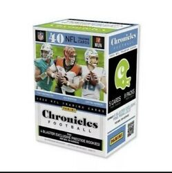 2020 Panini NFL Chronicles Football Trading Cards Single Sealed Retail Pack READ $10.50