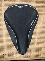 Bell Bike Gel Seat Pad 300 Gel Base Absorbs Shock For Comfort Thick Padding Wide $10.19