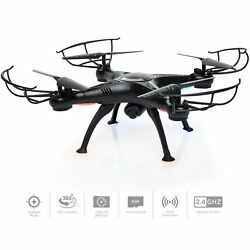Upgraded 6 Axis Headless RC Quadcopter FPV RC Drone W WIFI HD Camera For Real T $59.99