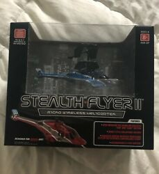 Stealth Flyer II Propel RC Micro Wireless Helicopter Remote Control $15.00