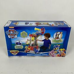 Paw Patrol Mighty Pups Super PAWs Lookout Tower Playset with Lights and Sounds $55.99