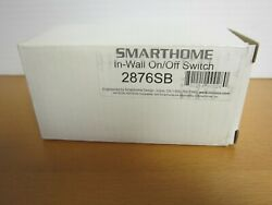 SMARTHOME In Wall on Off Switch 2876SB C $24.95