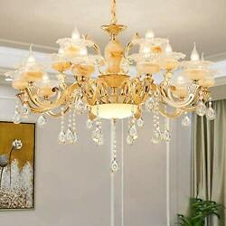 Crystal Chandeliers Vintage Pendant Lighting Modern Contemporary for Living Room $198.51