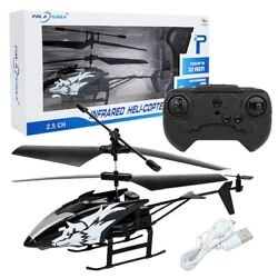 2021 Remote Control Helicopter Mini RC Infrared Induction Toy 2CH RC Drone Gyro $19.99