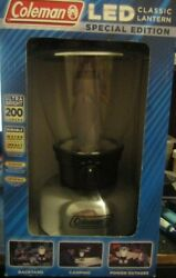 NEW Coleman LED Classic Lantern Special Edition 200 Lumens Water amp; Impact Resist $14.99