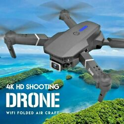 2021 New Quadcopter Drone Hd 4k Wide Angle Camera And Wifi Fpv Rc Drone Toy Gift $50.00