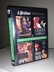 Lifetime Moment Of Truth DVD Volume 1 Broken Silence Cradle Of Conspiracy $24.99