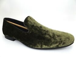 Giorgio Brutini Mens Conway Slip On Penny Loafer Dress Shoe Size 8.M Green 19932 $29.99