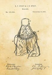 9678.Decoration Poster.Home vintage Room wall art.Patent antique fashion Overall $75.00