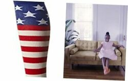 womens Original Series Novelty Shoe Size: 4 10 American Flag Red White Blue $16.09