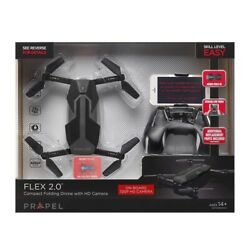 Flex 2.0 Compact Folding Drone with HD Camera $40.00
