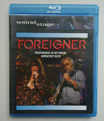 Sound Stage Foreigner Featuring 12 of their greatest hits BluRay disc 2008 $14.00