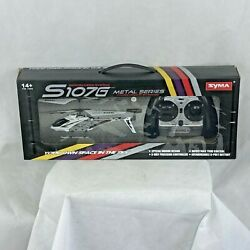 Remote Control Helicopter 3 Channel Mini RC Crash Proof Alloy Frame LED Lights $34.85