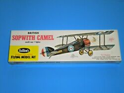 Guillows Sopwith Camel Scale Balsa Flying Model Kit 18quot; wingspan MISB $48.99