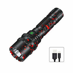 XHP50.2 Led flashlight rechargeable usb torch zoomable led torch $24.59