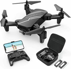 DEERC D20 Mini Foldable RC Drone with HD FPV Camera 3D Flips RC Quadcopter $99.99