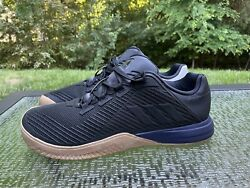 Adidas Crazy Power Trainer Training Men's Size 13 Sneakers Shoes Black White $44.85