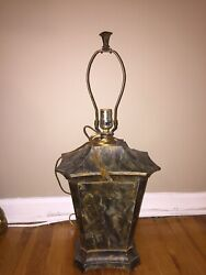 Beautiful Vintage Lamp With Colorful Design $199.00