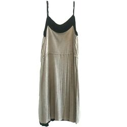 Kensie women#x27;s casual Dress sleeveless Size S Color Beige And Black $12.97
