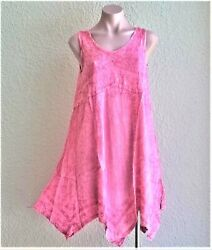 India Boutique Uneven Hem Style Short Dress Long Top FREE SIZE ONE SIZE NWT $14.99