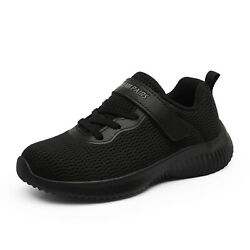 Kids Boys Athletic Shoes Knit Breathable Comfort Fashion Sneakers Running Shoes $18.99