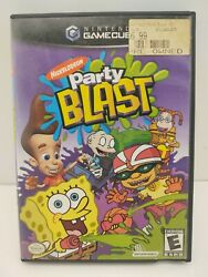 Nickelodeon Party Blast Nintendo GameCube 2002 CASE amp; Manual ONLY $8.90
