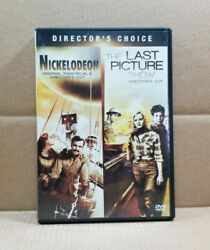 Nickelodeon The Last Picture Show DVD 2009 2 Disc Set Double Feature $24.99