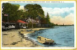 Chepiwanoxet East Greenwich Rhode Island Cottages along the Beach 1945 $6.95