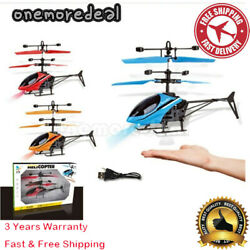 Mini RC Helicopter for Kids RC Drone Infrared Induction LED LightCharging cable $16.99