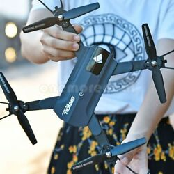 F196 Foldable Drone with Camera 2MP HD RC Quadcopter Optical Flow Drone #NEW $91.99