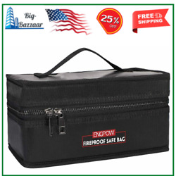Lipo Battery Safe Bag Fireproof Explosion Proof RC Charger Storage Carry Case $20.40