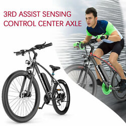 26#x27;#x27; Fat Tires Commuter Ebike Electric Bike Power Bicycle 48V10AH Lithium Batter $939.99