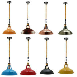 Retro Modern Style Vintage Ceiling Pendant Light Industrial Lampshade Chandelier $51.02