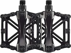Bike Pedals 9 16quot; for MTB Mountain Road Bicycle Flat Alloy Platform Pedal $11.99