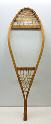 Antique Vintage 14quot; 42quot; Single Snowshoe For Decor or Arts amp; Craft FREE SHIPPING $39.99