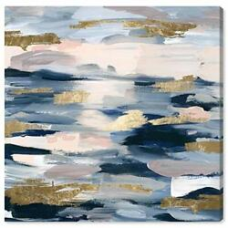 The Oliver Gal Artist Co. Abstract Wall Art Canvas Prints #x27;Smoke on the Water... $74.76
