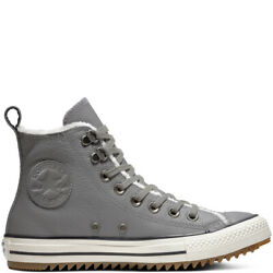 Converse Chuck Taylor All Star Womens 7.5 Hiking Shoes Boot Gray Ladies 161513C $33.99