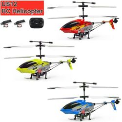 U12 Mini RC Helicopter 2.4GHz Remote Control Helicopter Toy Gifts 2 Batteries $27.98