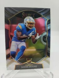 JASON MOORE RC CHARGERS #78 CONCOURSE 2020 PANINI SELECT NICE CARD $1.99