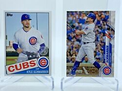 2020 Topps Mini Pink Kyle Schwarber 1985 Style #85 26 amp; base #119 Lot of 2 $7.99