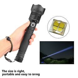 XHP70 Super Bright LED Flashlight Rechargeable USB With Charging Display US $42.55