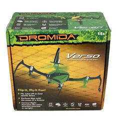 Dromida Verso Drone QuadCopter Green Drone You Can Fly Upside Down No Charger $27.00