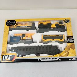 Toystate Caterpillar CAT Construction Motorized Iron Diesel Train 2015 Ages 5 $20.00
