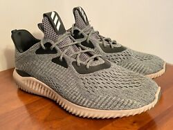 Adidas Alphabounce EM Utility Ivy Green Mens 12 Excellent Condition $59.99