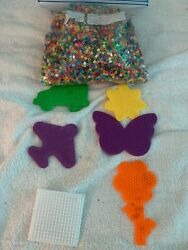 Mini Beads made crafts kids school toy bead holders plane flower butterfly $7.99