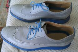 Cole Has Grand Os Lenox Hill Oxford Wingtip Black Leather Mens 13US $70.00