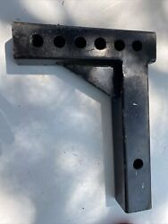 HiTow Replacement Weight Distribution Hitch Shank 2 In Solid Extra Duty.. $49.99