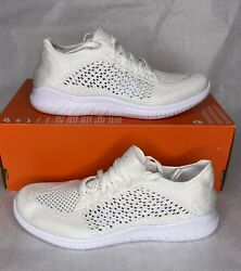 Nike Free RN Flyknit 2018 Mens Size 7 8 Running Shoes White 942838 103 $100.00