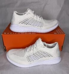 Nike Free RN Flyknit 2018 Mens Size 7.5 Running Shoes White 942838 103 $100.00