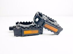 PAIR of Polymer Bicycle Pedals Standard Fit $8.00